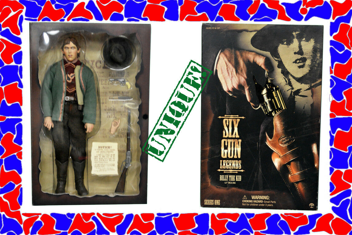 BILLY THE KID William Bonney Sideshow Six Gun Legends 12  figure outlaw