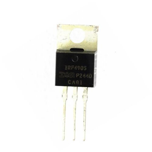 5pcs NEW  IRF4905PBF IRF4905 MOSFET P-CH 55V 74A TO-220