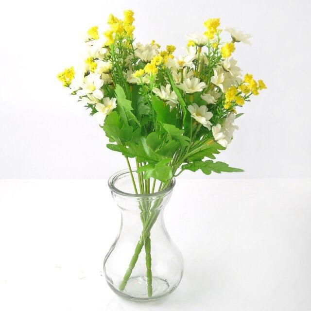 Sales Fashion Artificial Fake Silk Daisy Flower Bouquet Home Wedding ...