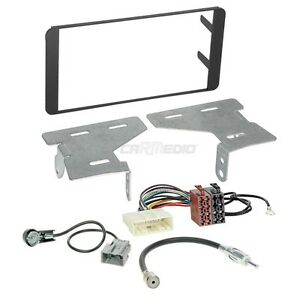 Subaru BRZ ab 17 2-DIN Autoradio Einbauset Adapter Kabel Radioblende