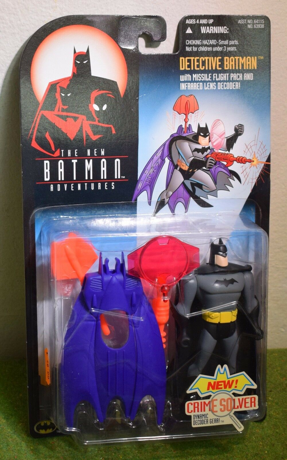 KENNER THE NEW BATMAN ADVENTURES DETECTIVE BATMAN ACTION FIGURE