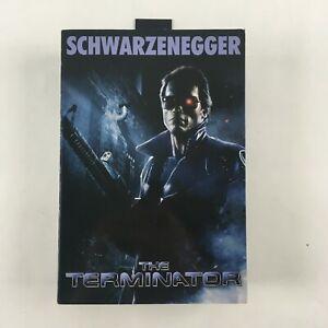 NECA Schwarzenegger The Terminator Action Figure New NISB