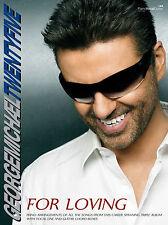 Twenty-Five For Loving George Michael Pop Piano Voice Guitar FABER Music BOOK