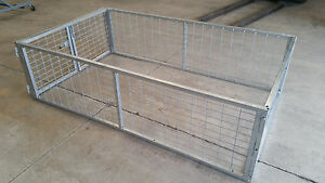 Galvanised-Trailer-Cage-suit-8x5-900mm-Heavy-Duty-Galvanised-Cage-CAGE-ONLY
