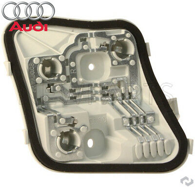Right Side Outer Tail Light Bulb Holder Genuine NEW Audi A3 Q A3 06-08 Pass
