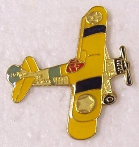 Hat Tie Tac Pin Airplane PT-71 Stearman NEW