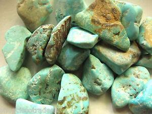 Turquoise-Flat-Tumbled-Stone-Medium-Size-QTY-1-PIECE-Healing-Crystal-Reiki
