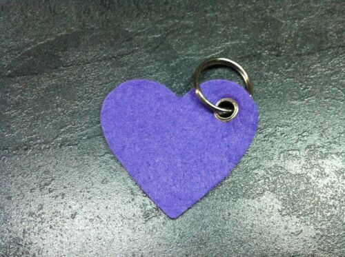 Filz Schlüsselanhänger mit Wunschtext das perfekte Geschenk zu vielen Anlässen