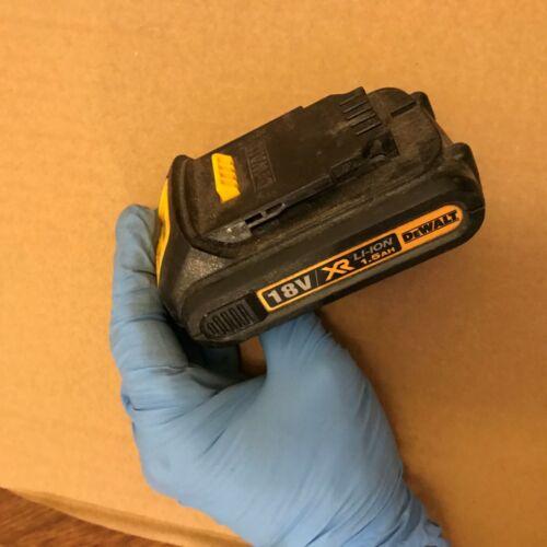 dewalt DCR181 18V Li-ion 1.5Ah battery