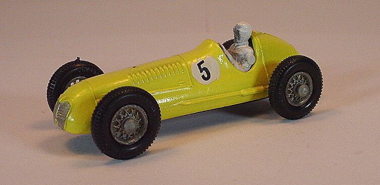 Matchlåda Reguljära hjul Nr. 52 A Maserati 4CLT Racer gul BPT w. Tales5