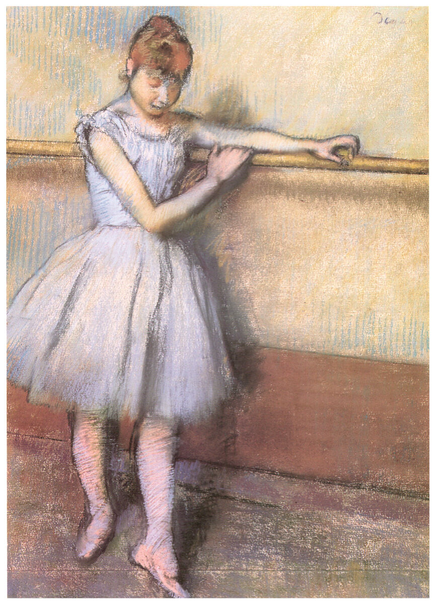 16x20 Decoration CANVAS.Interior room design art.Degas ballerina.Ballet.6390