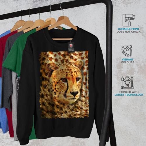 Cheetah Nature Animal Men Sweatshirt NEWWellcoda