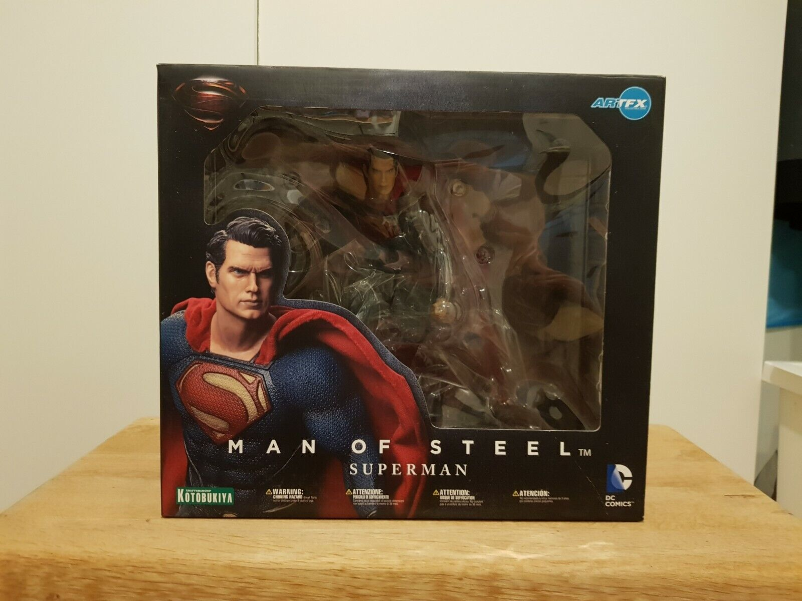 Kotobukiya uomo of Steel Superuomo 1 6 PVC cifra  ArtFX  Garanzia del prezzo al 100%
