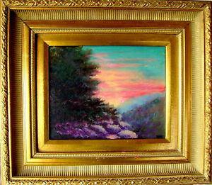 Details About Listed Artist Ellen Perantoni Hudson River School Manner Kaaterskill Sale