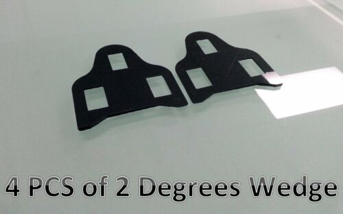 Leg Length discrepancy for SHIMANO SPD-SL ROAD pedal cleat spacer shim 3-14MM