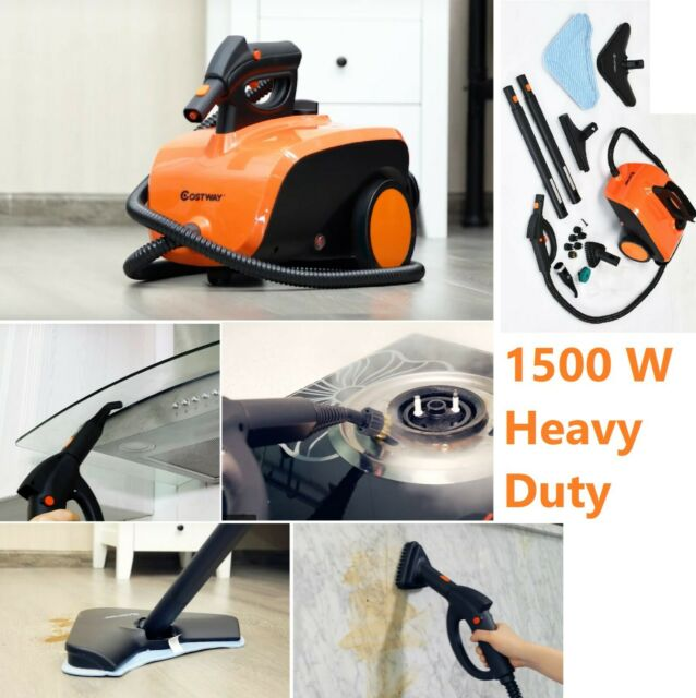 Professional Heavy Duty Yellow Steam Cleaner Floor Cleaning 1300w