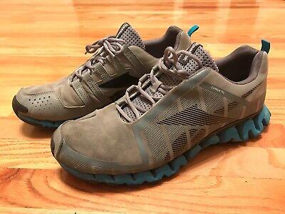 a81d393feed Reebok ZigTech Zigwild TR 2 Athletic Running Shoes - Men Size 13- Gray blue
