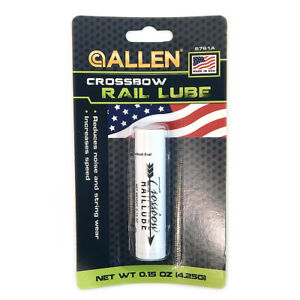 NEW-Allen-6761A-Crossbow-Rail-Lube-LOT-OF-2-Low-Noise-amp-Wear-Increases-Speed
