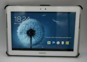 Tablet Samsung Galaxy Tab 2 16GB Wi-Fi Wifi 10,1 Pollici Bianco con cover