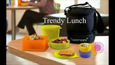 Tupperware Trendy Best Lunch Box 2 Big Bowl +2 Small Bowl+1 Square Away+Fre Bag