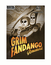 GRIN fandango Remastered Steam key PC Game descarga código global [envío rápido]