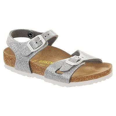 CLEARANCE Birkenstock Birko Flor RIO Magic Galaxy Silver BNIB Kids Sizes | eBay