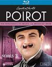 Agatha Christie's Poirot Series 3 3 Discs BLURAY
