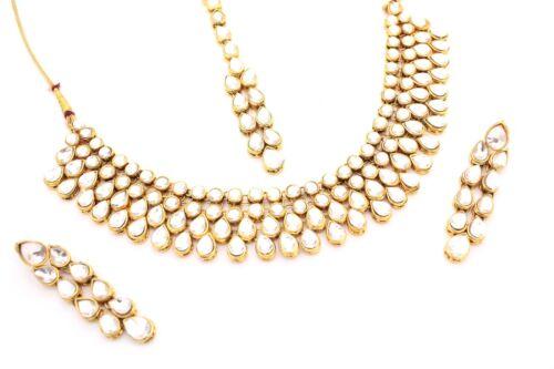 Conjunto de Collar y Pendiente Joyería Diamante Boda Fiesta Bridesmaids collar conjunto