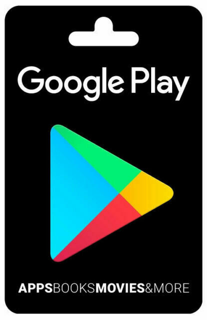 Google Play 100 USD Gift Card (PDF copy; never used)
