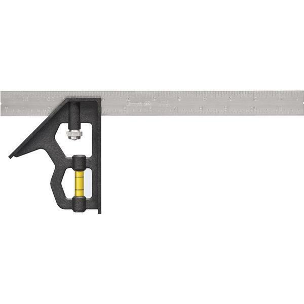 10 Pk Milwaukee Empire 12 In. Length Plastic Steel English Combination Square