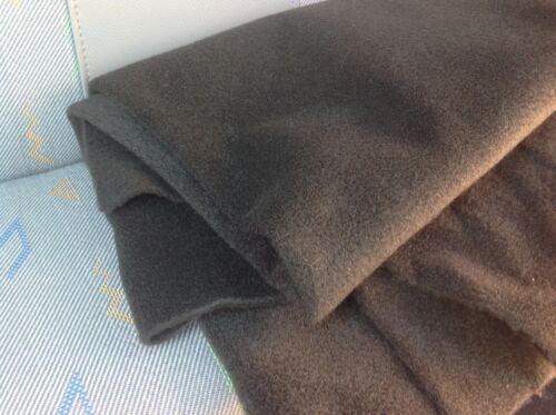 van lining carpet matting mat acoustic lining trim cloth 2M BLACK STRETCHY line