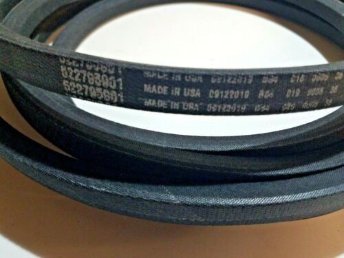"""6130 and 7230 with 52/"""" dck LZ25 5227 6127 5225 Deck Belt For Husqvarna CD48"""