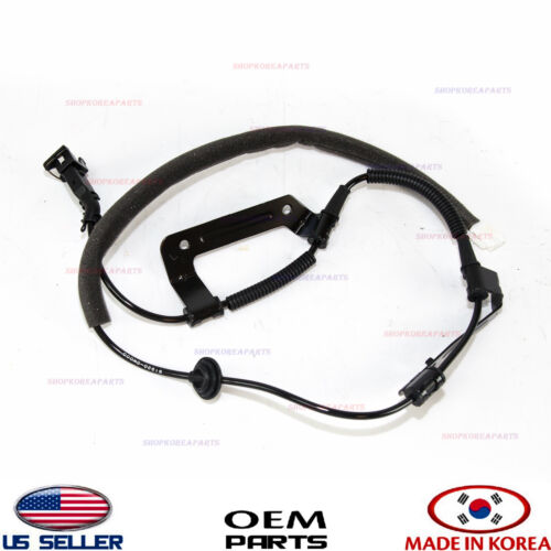 ABS WHEEL CABLE REAR LEFT GENUINE! SANTA FE 2WD 06-12 919200W000 ONLIY CABLE!