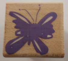 Hero Arts Whimsical Butterfly Wooden Rubber Stamp