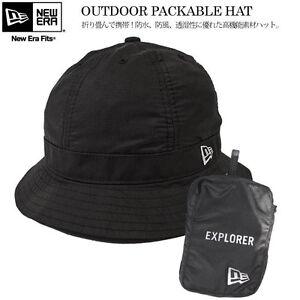 d566f9cf31342f ... france image is loading new era outdoor packable explorer bucket hat  black 40c6e 7712e