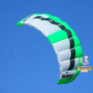 Trainer-Dual-Line-Kite-3-sqm-Power-Traction-Stunt-Flying-Sport-Beach-Outdoor-Toy