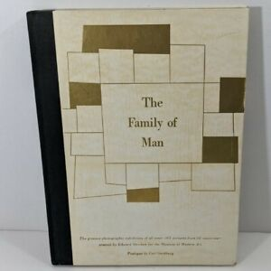 The Family of Man 1955 1st Edition Edward Steichen Sandburg Museum of Modern Art