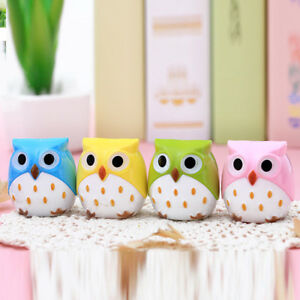 Image Is Loading 1PC Mini Cute Pencil Owl Sharpener Cutter Office