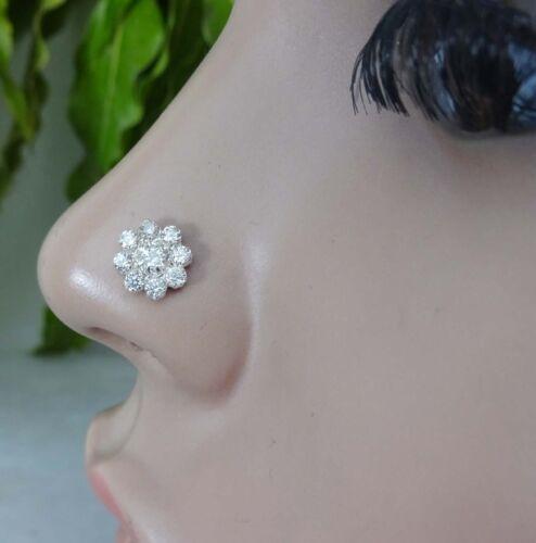 Crystal Nose Piercing Indian Nose Stud Diamond Nose Stud Star Nose Stud Piercing