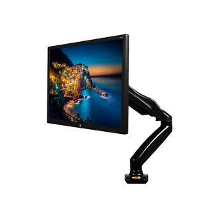 """Monitor-tischhalter F80 Fuer Bildschirm Monitor 17""""-27"""" Alu 360° drehbar"""