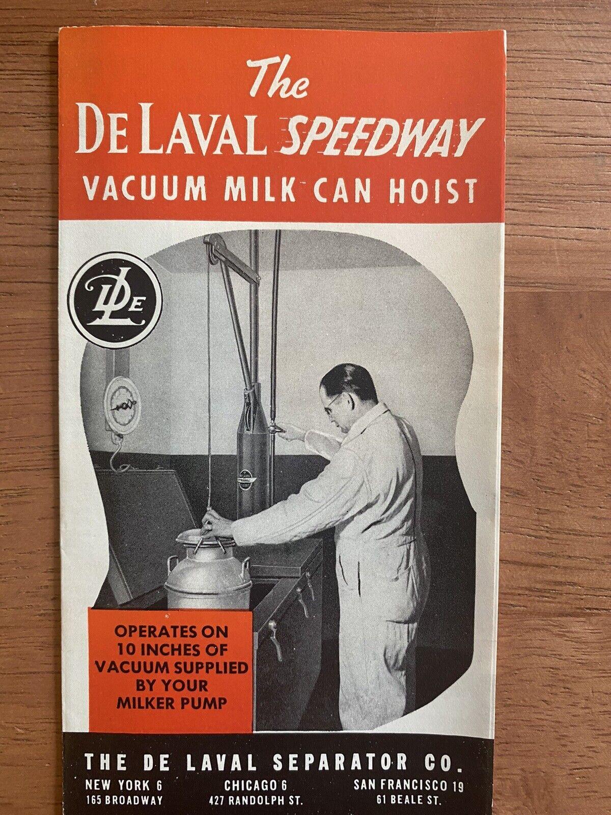 De Laval 1960/'s Employee Paper Hat Vintage Coolers Milkers Dairy Columbus OH