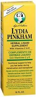 Lydia Pinkham Liquid To Feel Better During Menstruation And Menopause - 16oz on Sale
