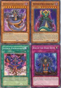 Yugioh-Vennominon-King-of-Poisonous-Snakes-amp-Vennominaga-Snake-Deity-Set-Lot