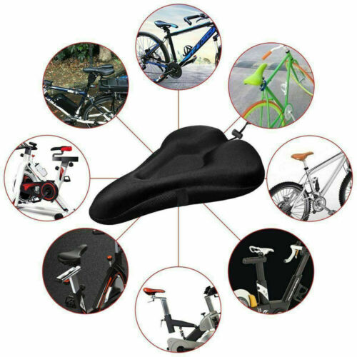 Soft Mountain Bike Comfort Gel Pad Comfy Cushion Saddle Seat Cover For Bicycle