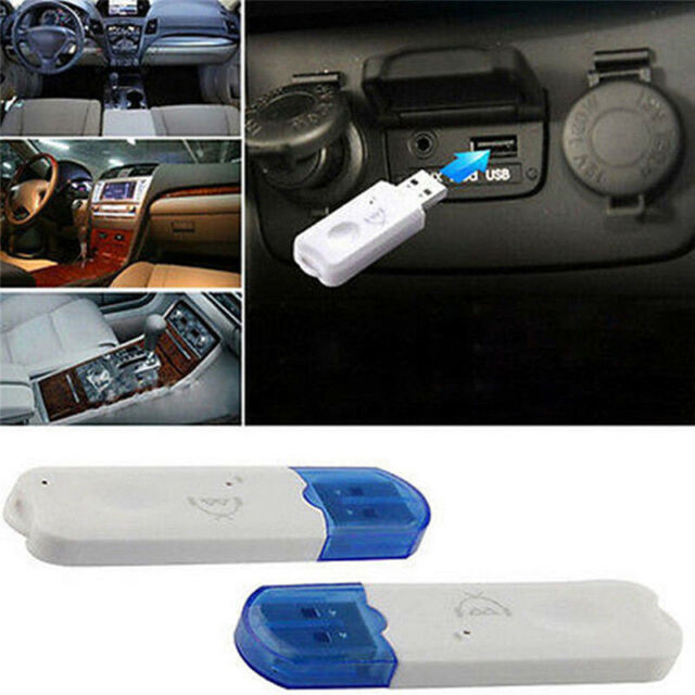 USB Bluetooth Stereo Audio Music Wireless Receiver Adapter For Car Home Speaker!