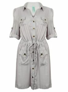 LADIES-SHIRT-DRESS-TOP-MAXI-COCKTAIL-EVENING-CASUAL-PARTY-NEW-LIGHT-SOFT-WOMENS