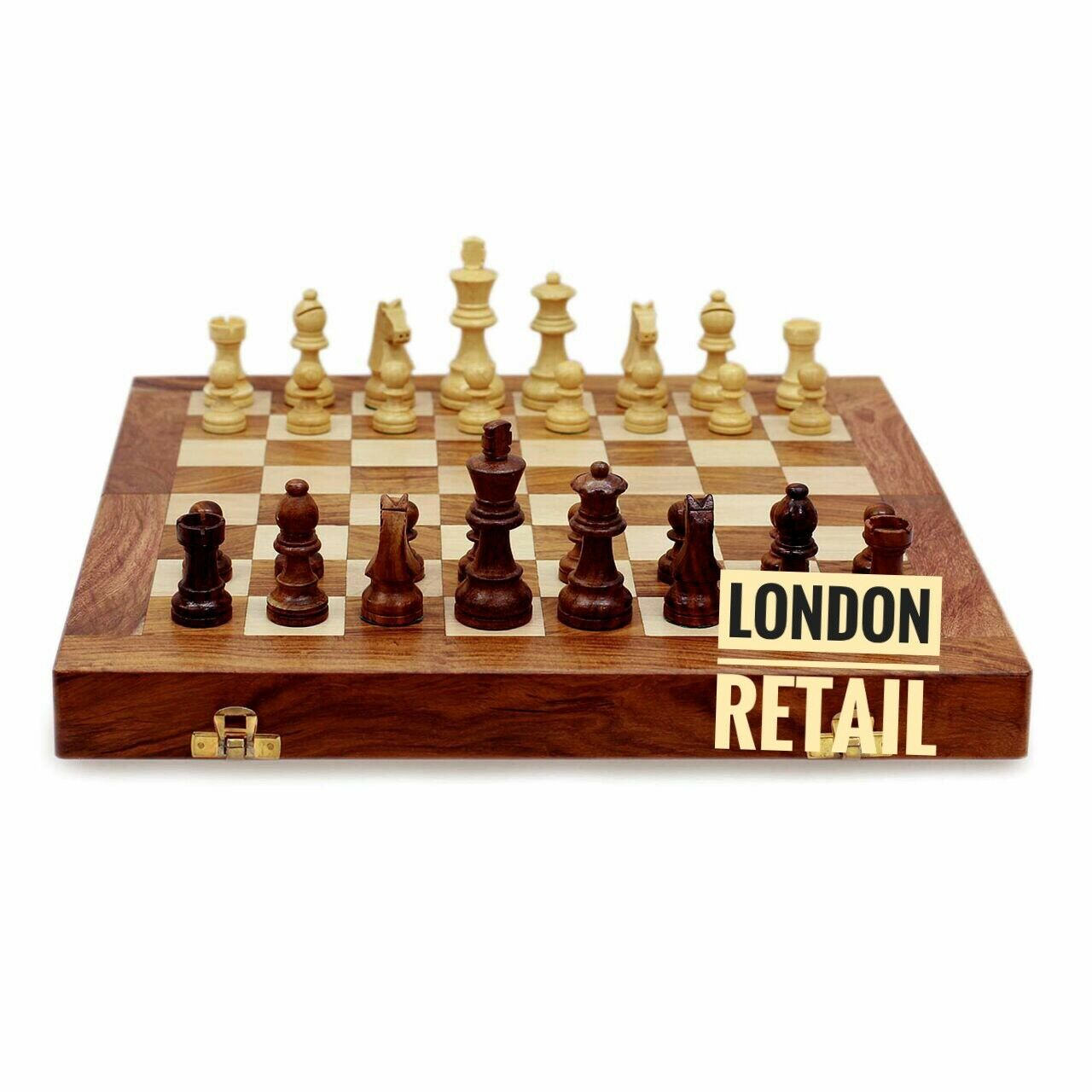 Chess set 12 x 12 Inches (30cm) with magnetic pieces