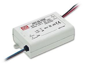 "LED Netzteil//Trafo 700mA Konstantstrom 11-36V DC 7,7-25,2W /""APC-25-700/"" MEANWELL"