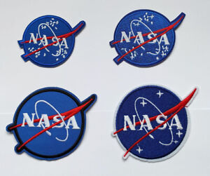 NASA Logo Space Patch Iron On Sew On Patch Badge