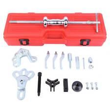 Ridgeyard 17pc 9 Way Steel Remover Slide Hammer Axle Bearing Dent Hub Gear Kit
